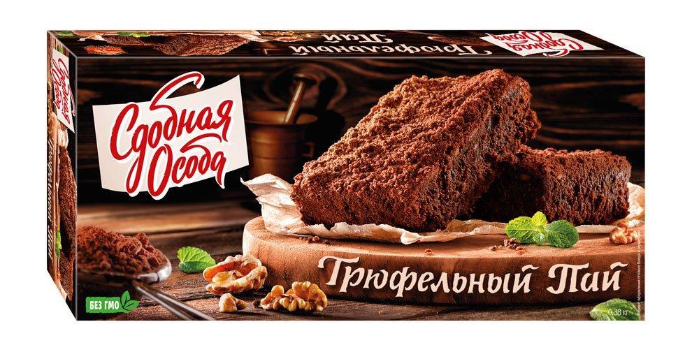 Пирог Трюфельный пай, СДОБНАЯ ОСОБА, 400 г