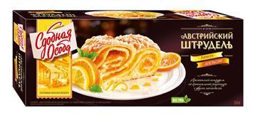 Пирог Австрийский штрудель Лимон и апельсин, СДОБНАЯ ОСОБА, 400 г