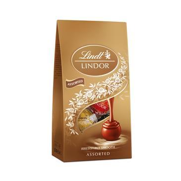 Конфеты шоколадные LINDT Lindor Ассорти Сумка, 100 г