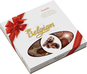 Конфеты шоколадные BELGIAN Harvest, 250 г