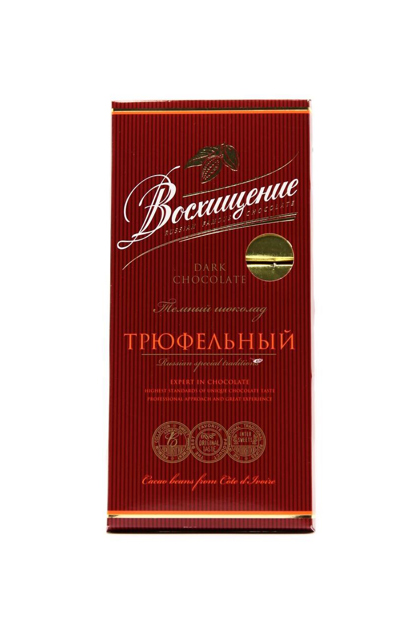 Шоколад ВОСХИЩЕНИЕ темный трюфельный, 140 г