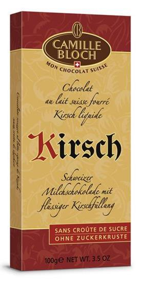 Шоколад CAMILLE BLOCH Kirsch, 100 г