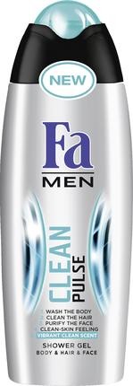 Гель для душа FA Men Clean Pulse, 250мл