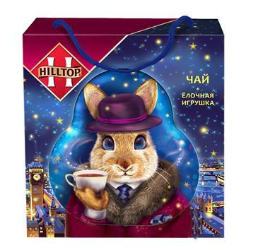 Чай в подарочной упаковке HILLTOP Елочная Игрушка, 50г