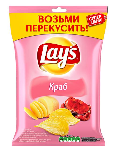 Чипсы LAY`S Краб, 40г