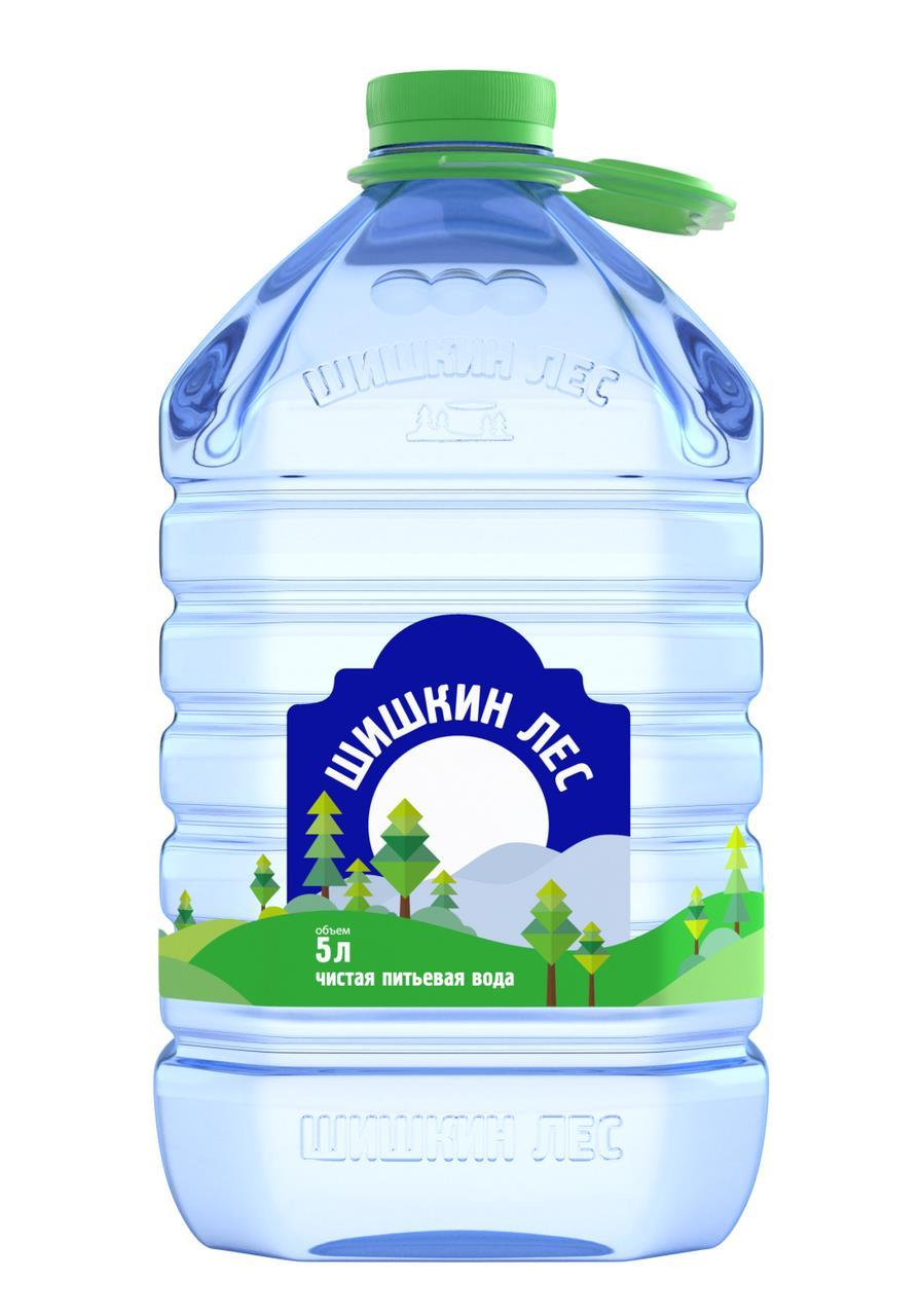 Питьевая вода ШИШКИН ЛЕС, 5 л