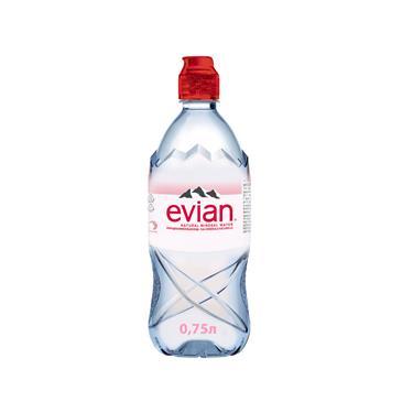 Минеральная вода EVIAN спорт, 0,75л