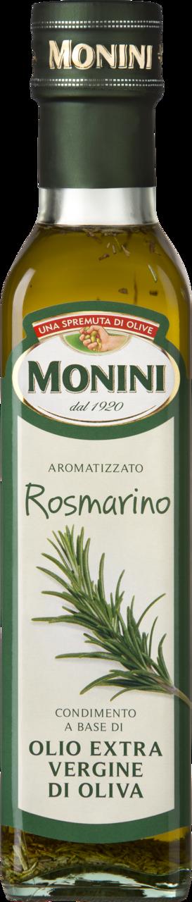 Масло оливковое MONINI Extra Virgin с розмарином, 250 мл