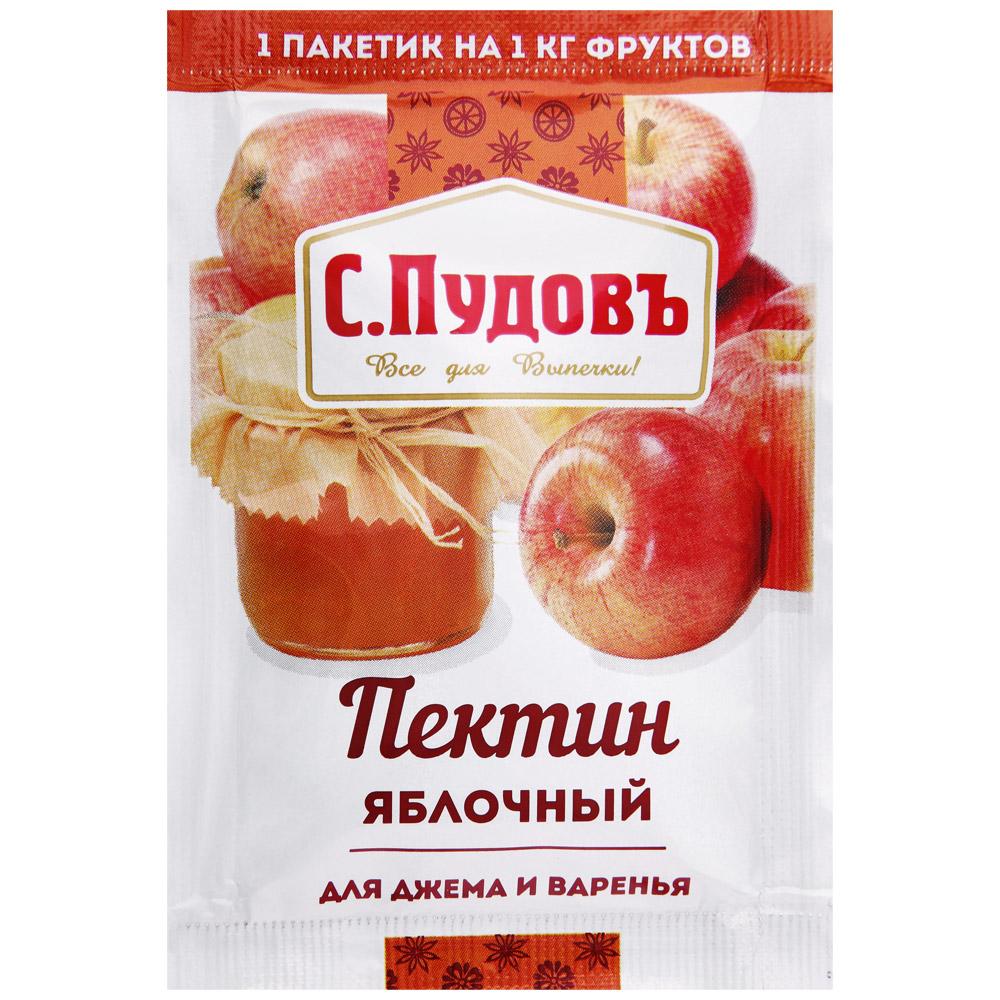 Пектин С. ПУДОВЪ яблочный для джема и варенья, 10г