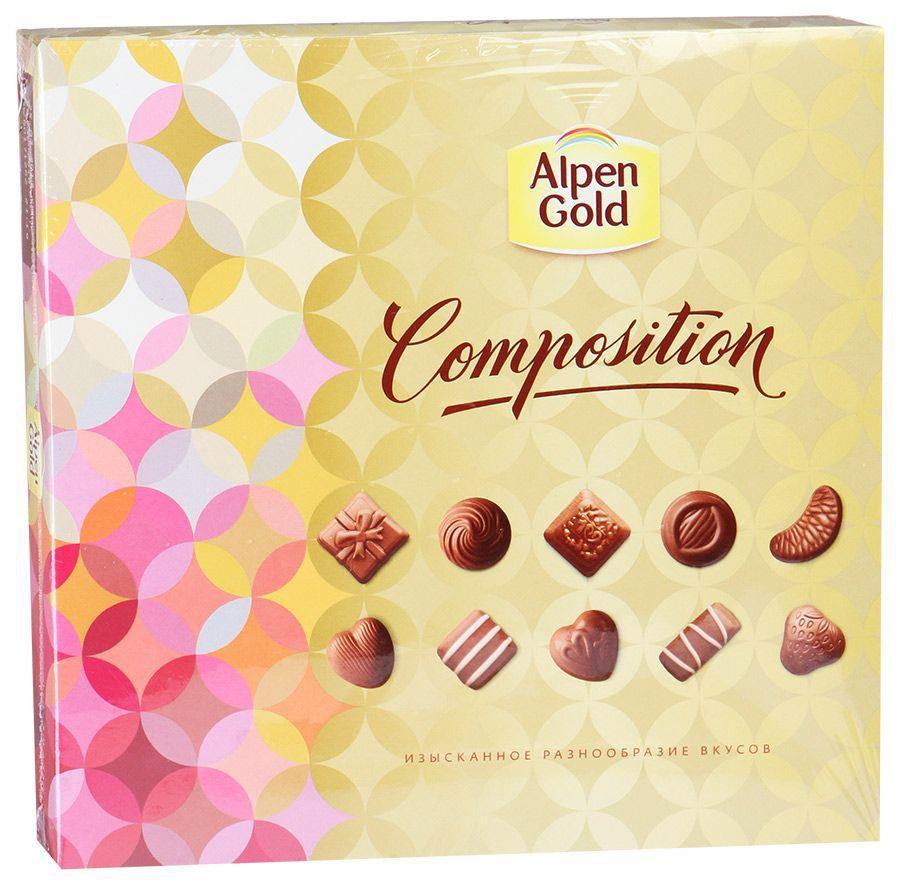 Шоколад ALPEN GOLD COMPOSITION 180 г