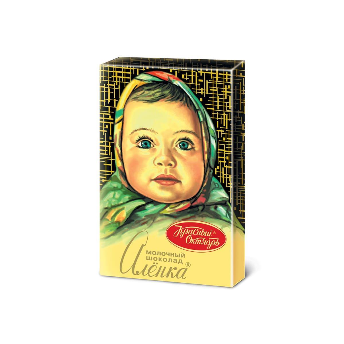 Шоколад КРАСНЫЙ ОКТЯБРЬ Аленка, 15г