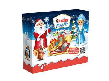 Новогодний подарок KINDER Ferrero Посылка, 220г