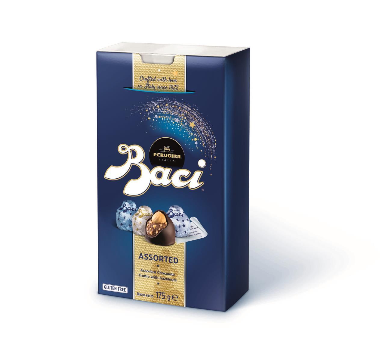 Конфеты шоколадные  с начинкой ассорти  BACI, 175 г