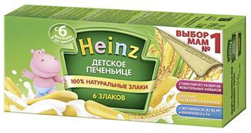 Печенье HEINZ Детское 6 злаков, 160 г