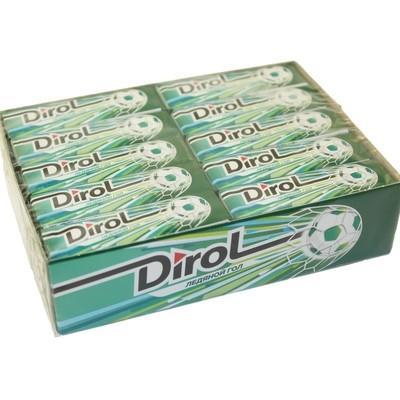 Жевательная резинка DIROL с ментолом 13.6 г