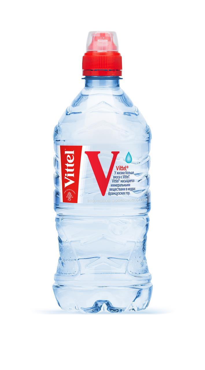 Минеральная вода VITTEL спорт, 0,75л