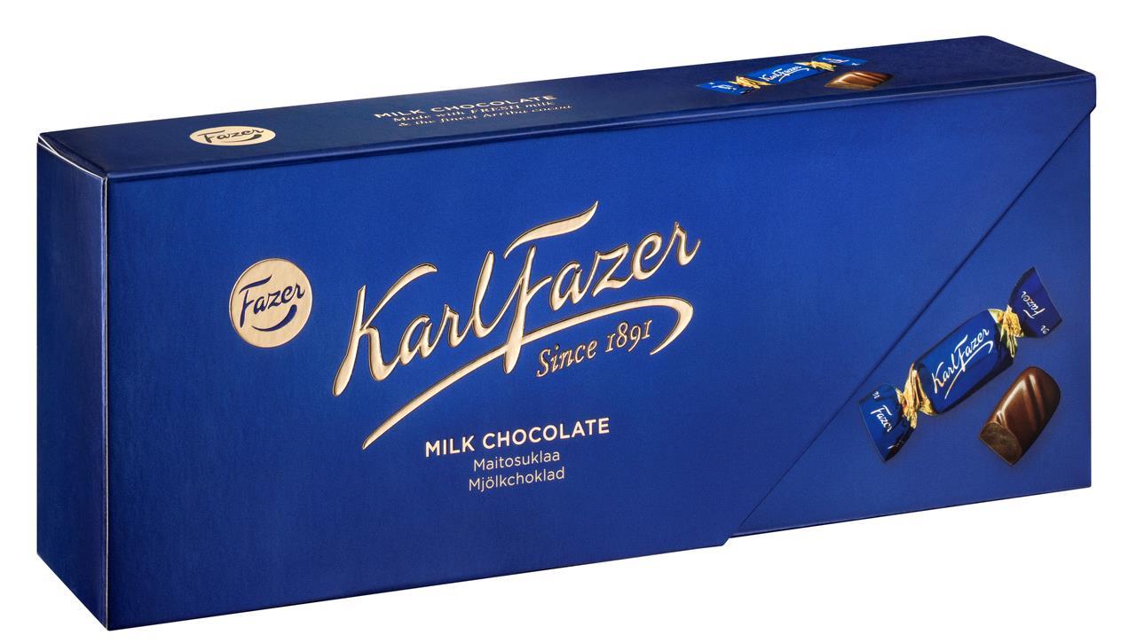 Конфеты KARL FAZER из молочного шоколада, 270 г