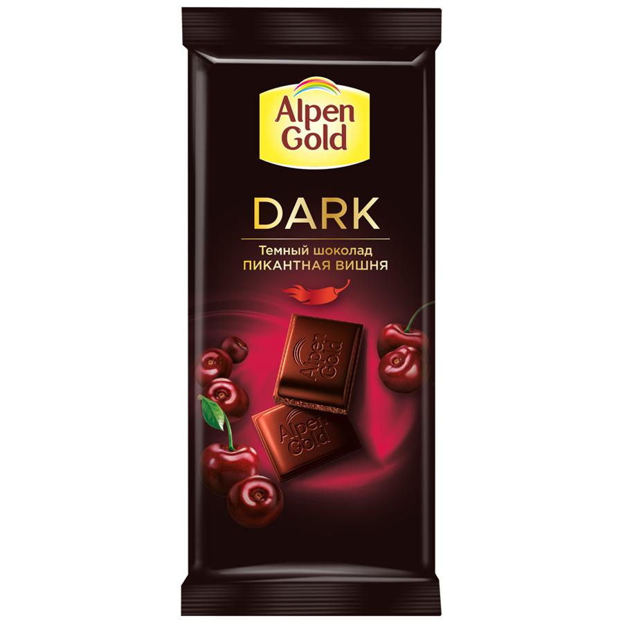 Шоколад ALPEN GOLD темная вишня и чили 21X85 г