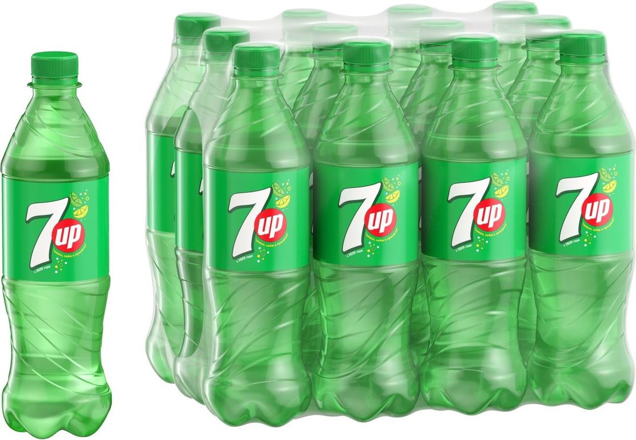 Напиток газированный 7UP, 0,5 л
