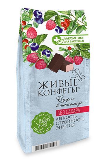 Суфле в горьком шоколаде, 150 г