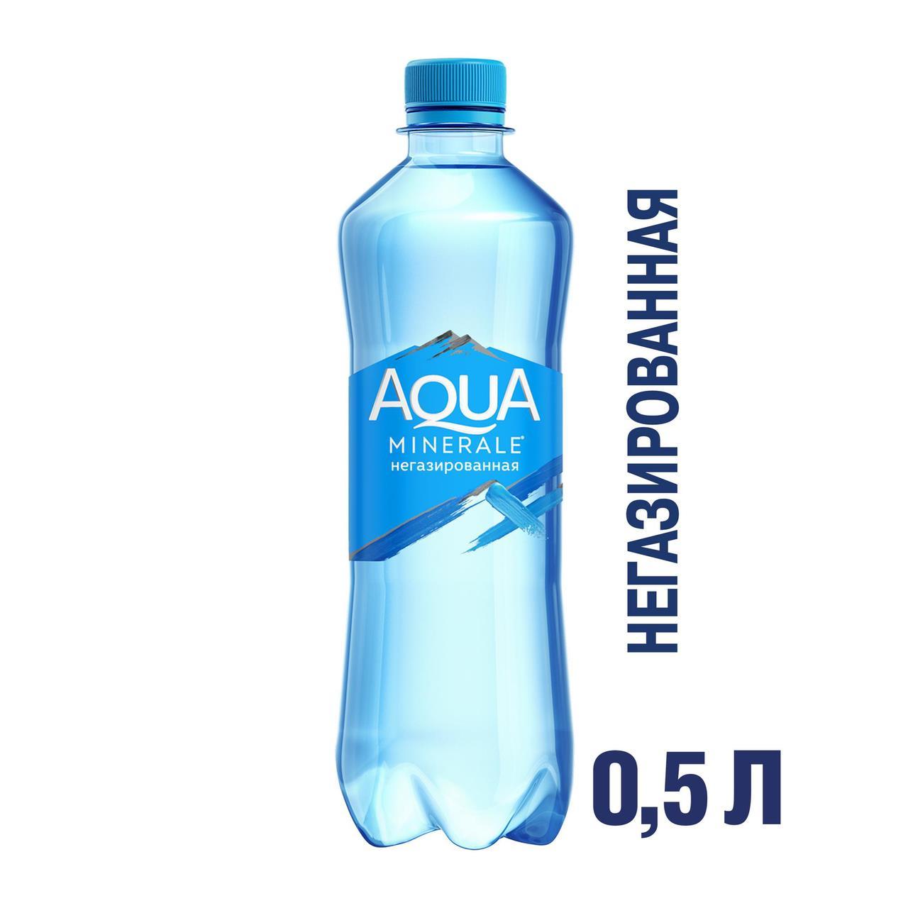 Вода AQUA MINERALE без газа 0,5 л