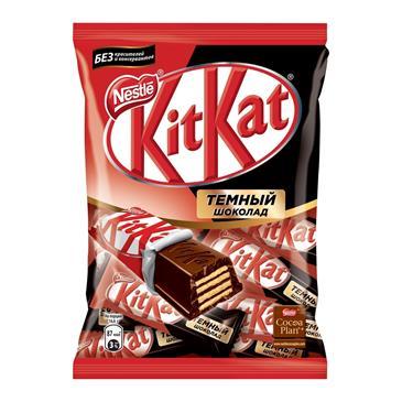Шоколад темный с хрустящей вафлей Dark KITKAT, 169 г