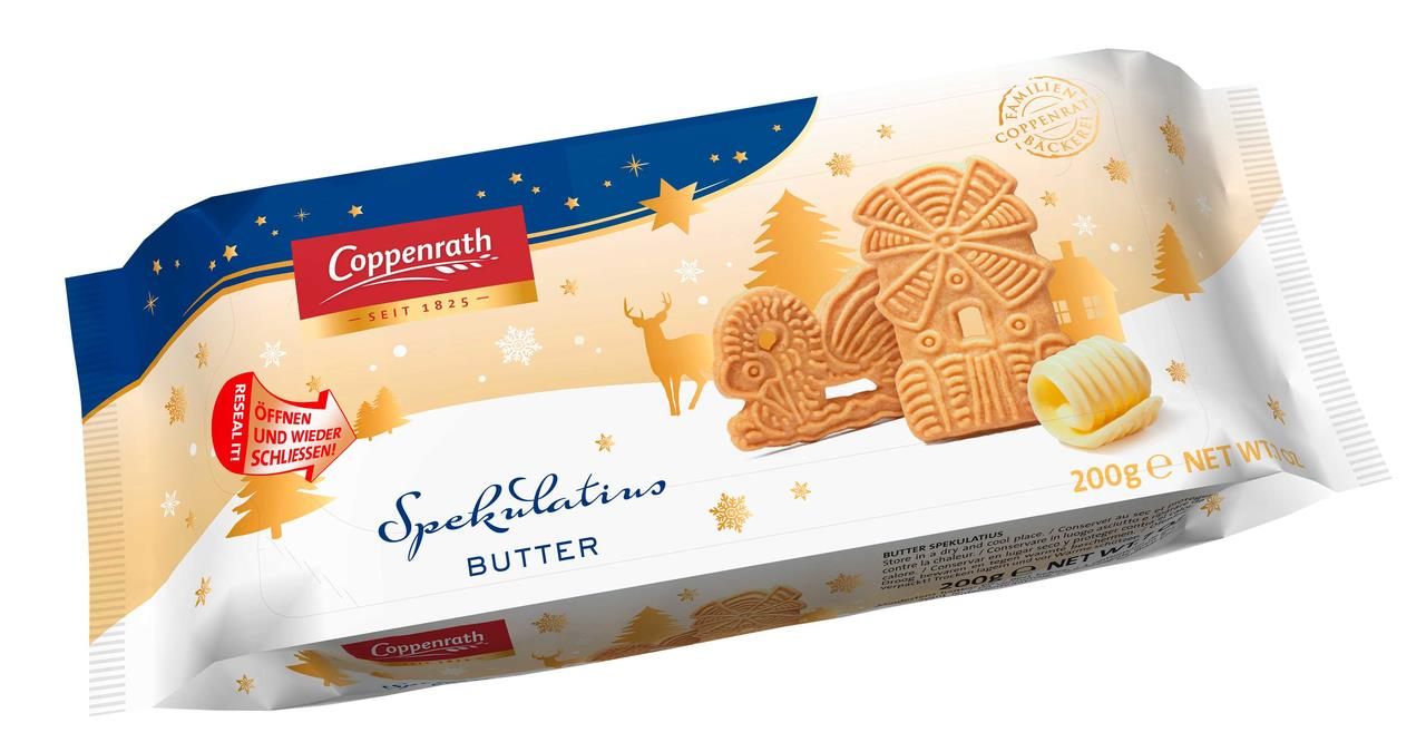 Хрустящее печенье с минадалем COPPENRATH 200 г