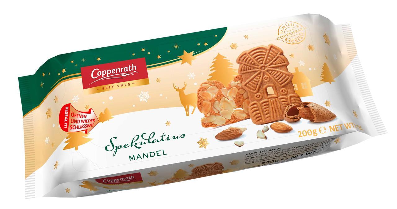 Печенье COPPENRATH хрустящие сливки 200 г