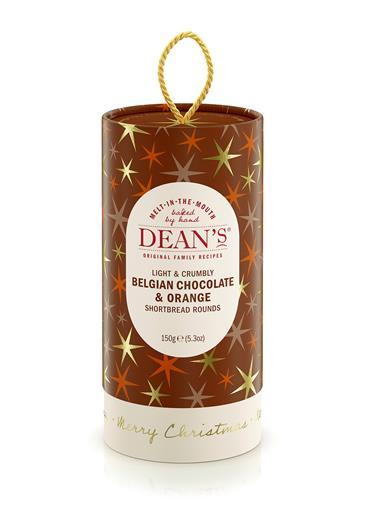 Печенье с апельсином  и бельгийским шоколадом DEAN'S, 150 г