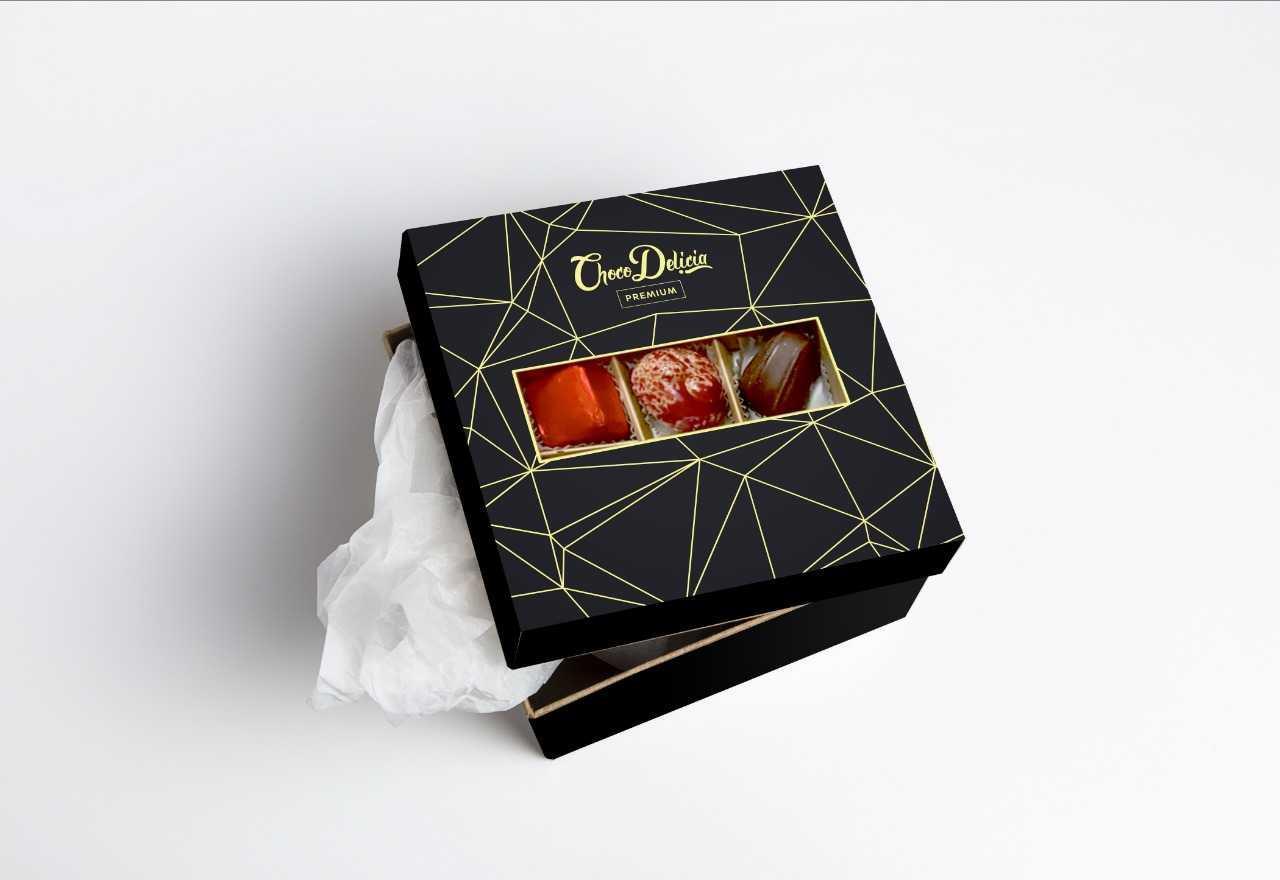 Конфеты шоколадные CHOCO DELICIA Набор Ассорти, 130 г
