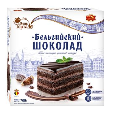 Торт Бельгийский шоколад ЧЕРЕМУШКИ, 700 г