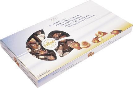 Шоколадные Конфеты AIMEE Морские ракушки, 500г