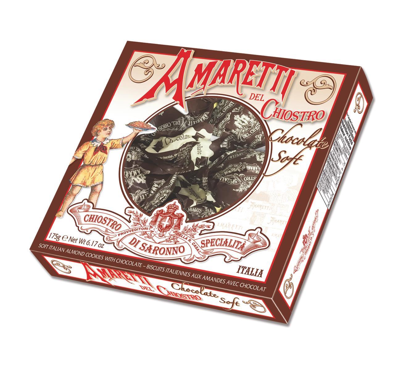 Печенье CHIOSTRO DI SARONNO амарэт с шоколадом, 175 г