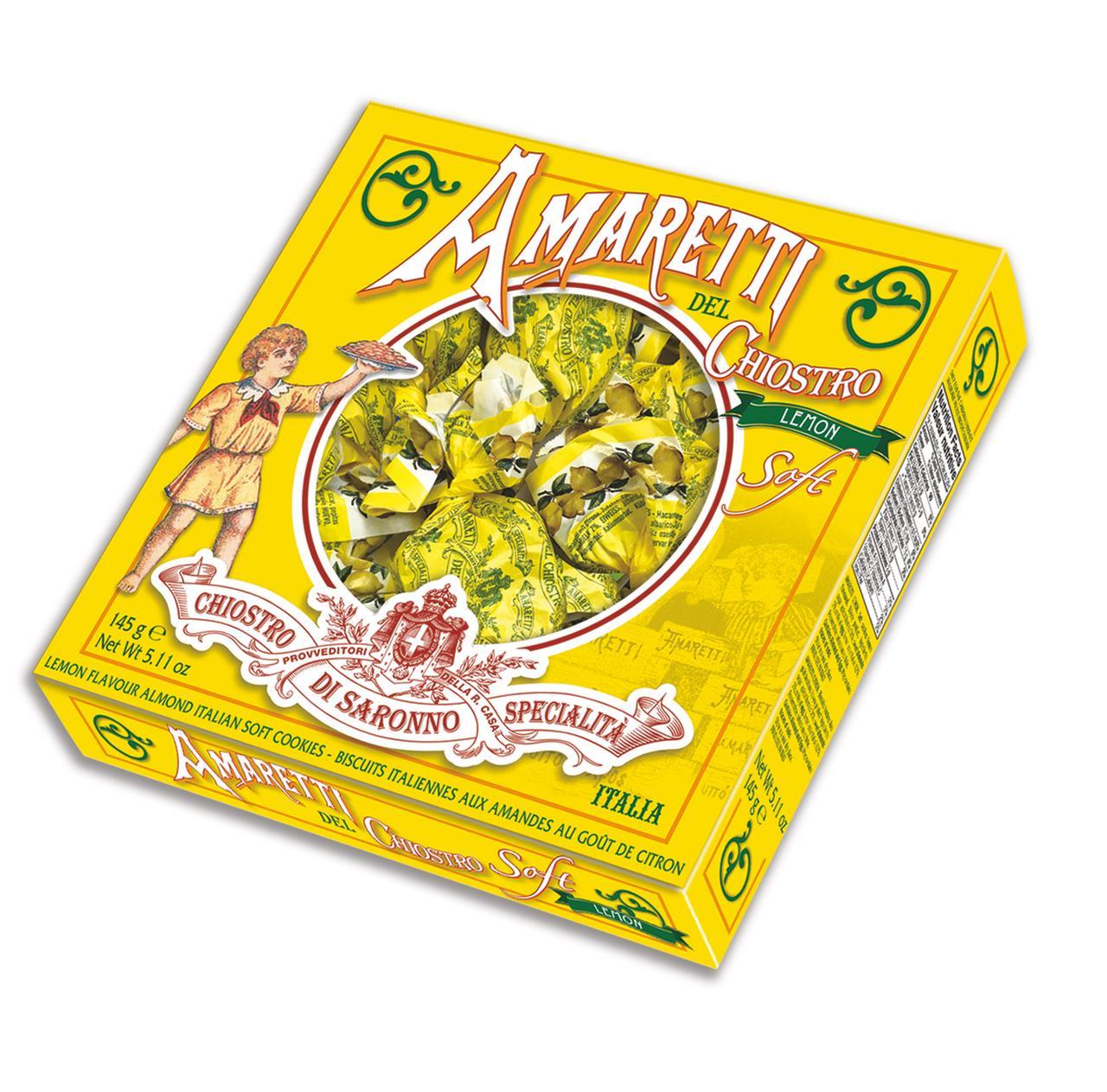 Печенье CHIOSTRO DI SARONNO лимон амарэт, 145 г