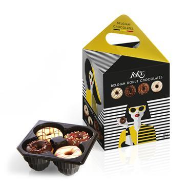 Конфеты шоколадные LCKX 4 вкуса, 225 г