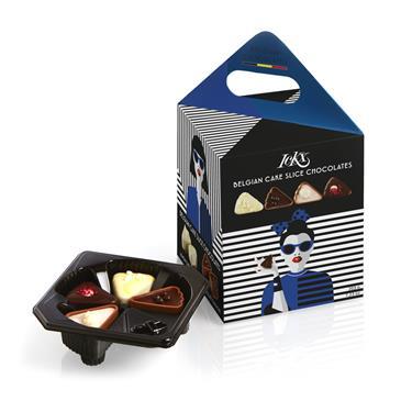Конфеты шоколадные LCKX 4 вкуса, 205 г