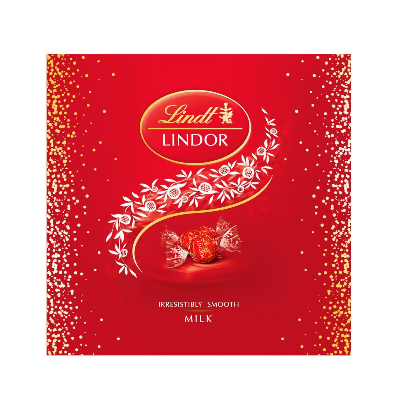 Конфеты шоколадные LINDOR в коробке, 275 г