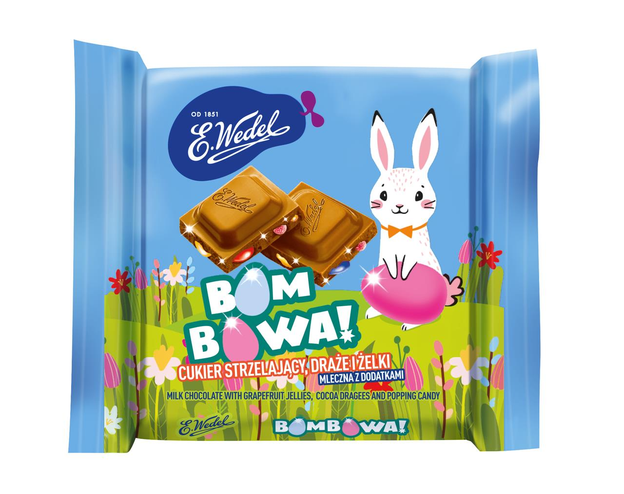 Шоколад E.WEDEL Bombowa!, 38 г