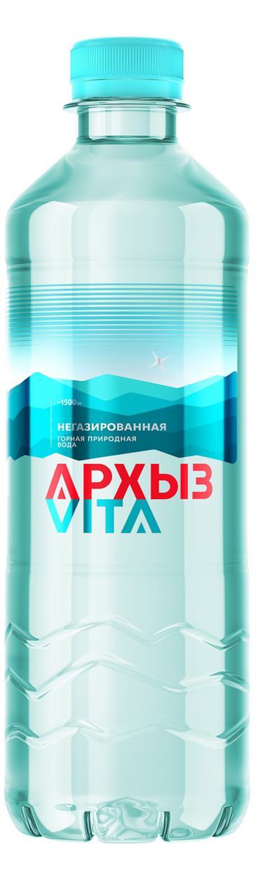 Вода АРХЫЗ негазированная, 0,5л