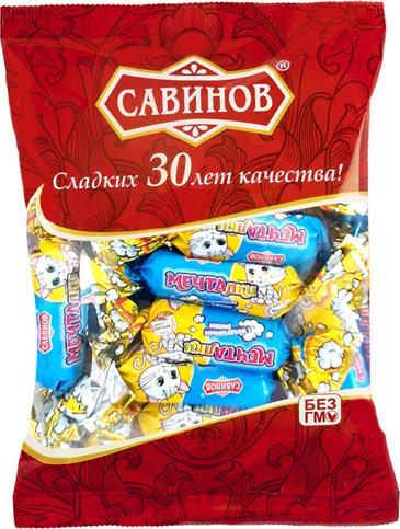 Конфеты МЕЧТАЛКИ С воздушным рисом, 185 г