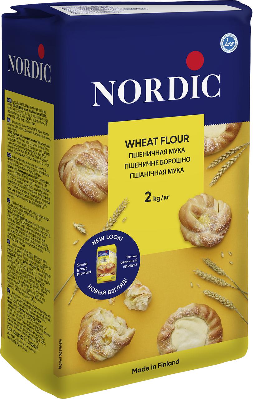 Мука пшеничная NORDIC,2кг