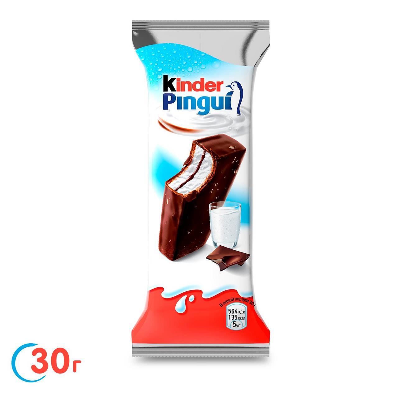 Бисквит KINDER Pingui, 30 г