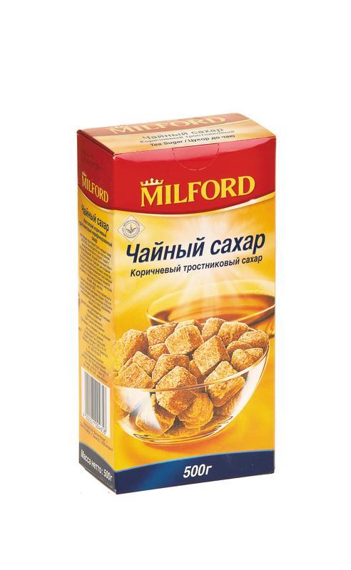 Чайный сахар кусковой MILFORD, 500г
